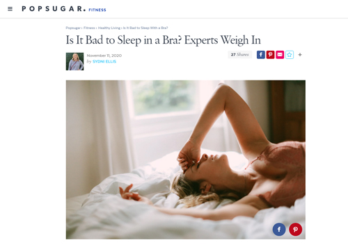 Is It Bad to Sleep in a Bra?