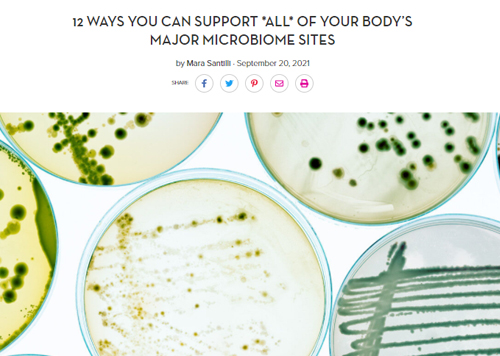 MICROBIOME SITES SUPPORT